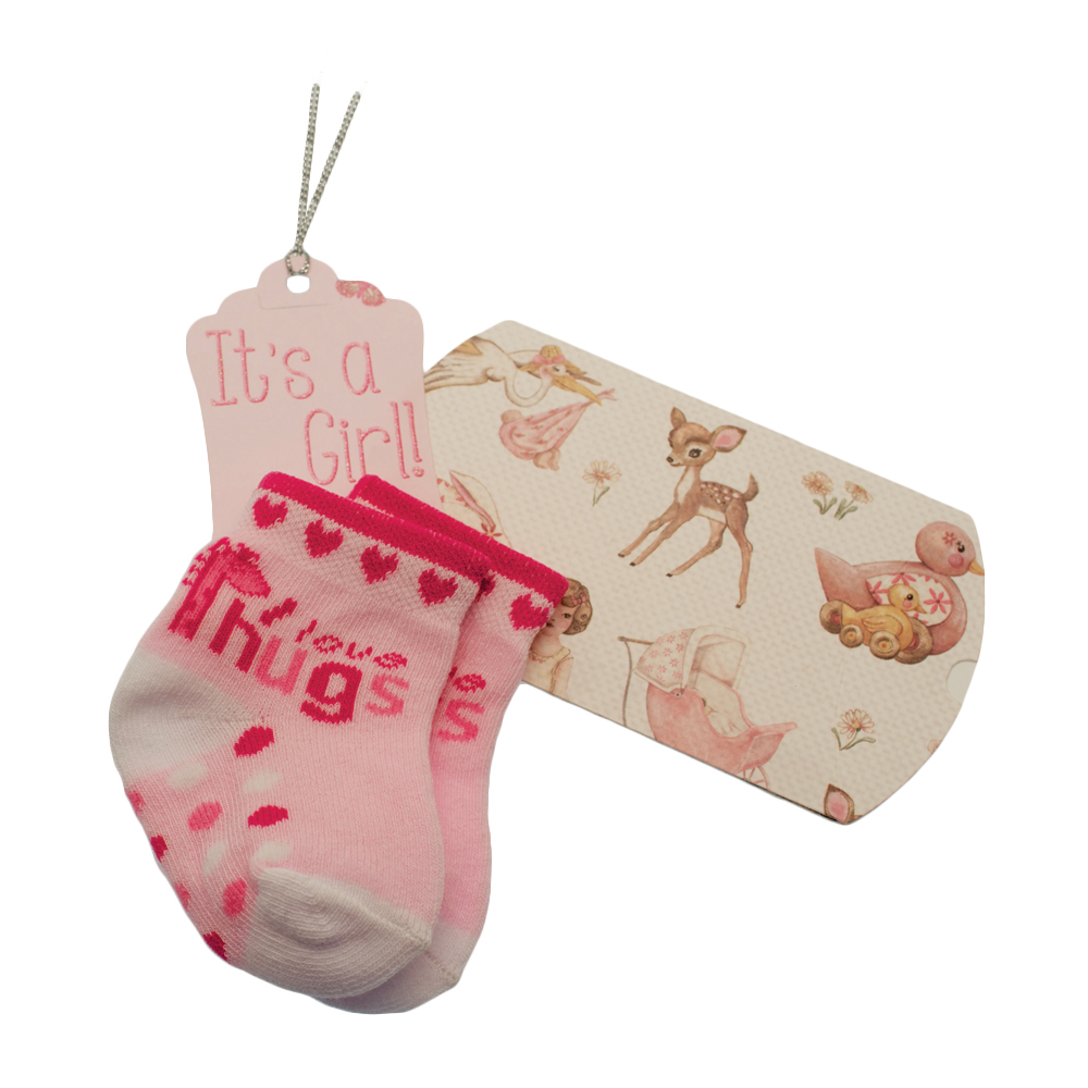 Baby Girl Gift Box : Unique baby girl gift box socks available from stylish gifts