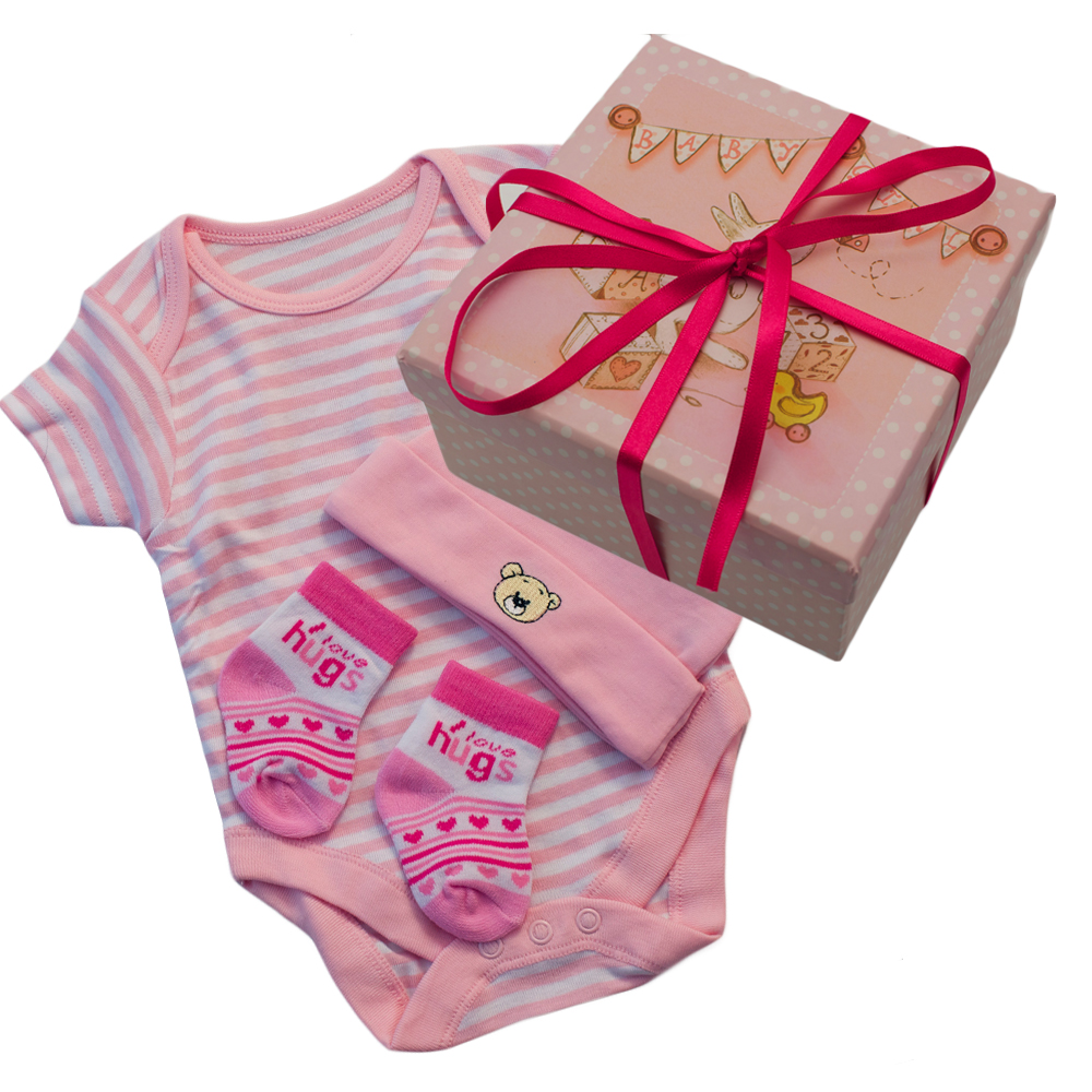 Unique baby girl gift box available from stylish gifts for Unusual quirky gifts
