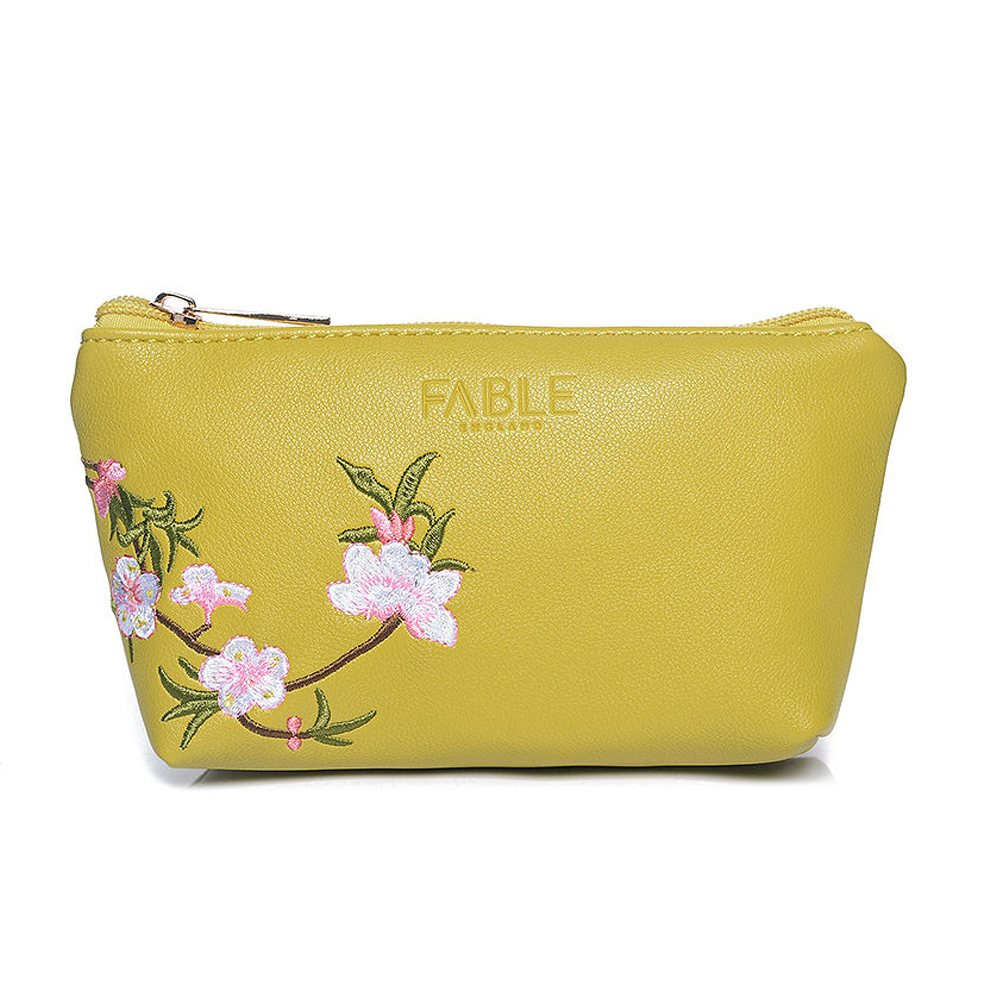 Stylish Gifts Olive Blossom Embroidered Cosmetic Bag-CS119