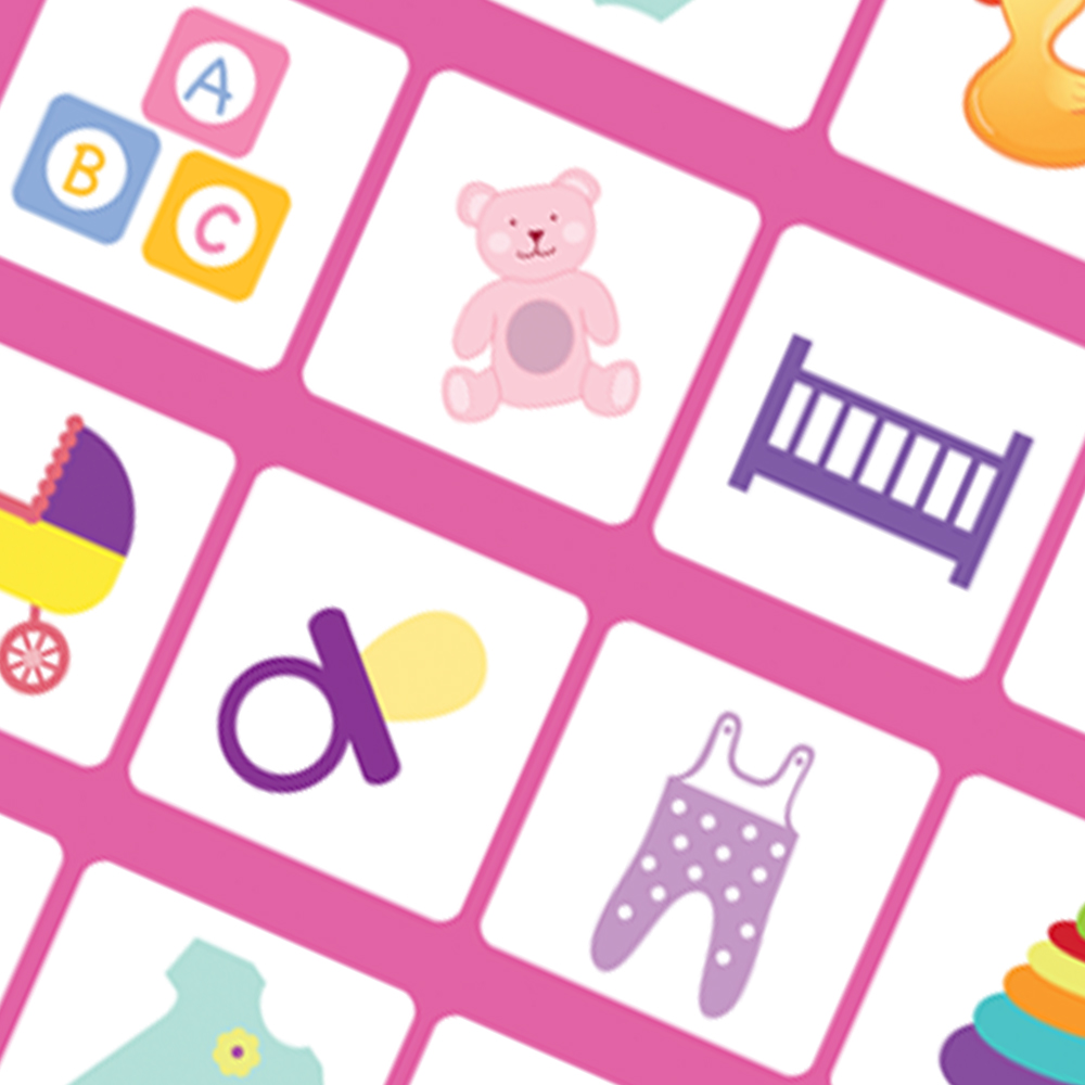 Quality Baby Gifts Uk : Baby girl gift wrap only available from stylish gifts
