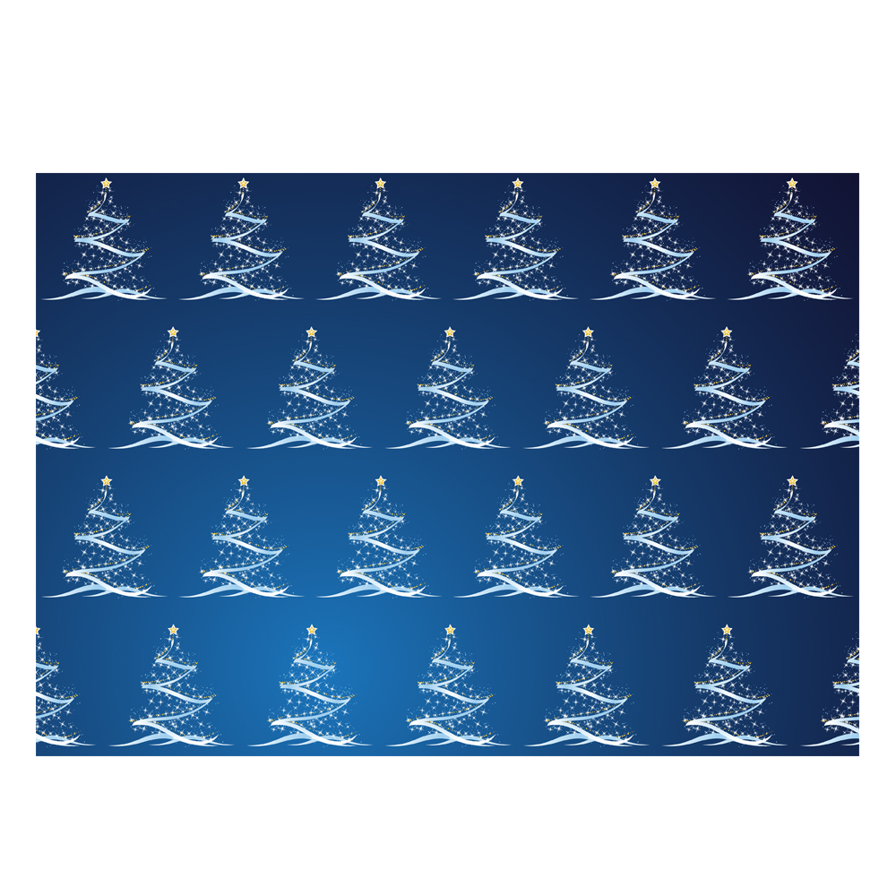 Christmas Tree Design Gift Wrap Available Only From