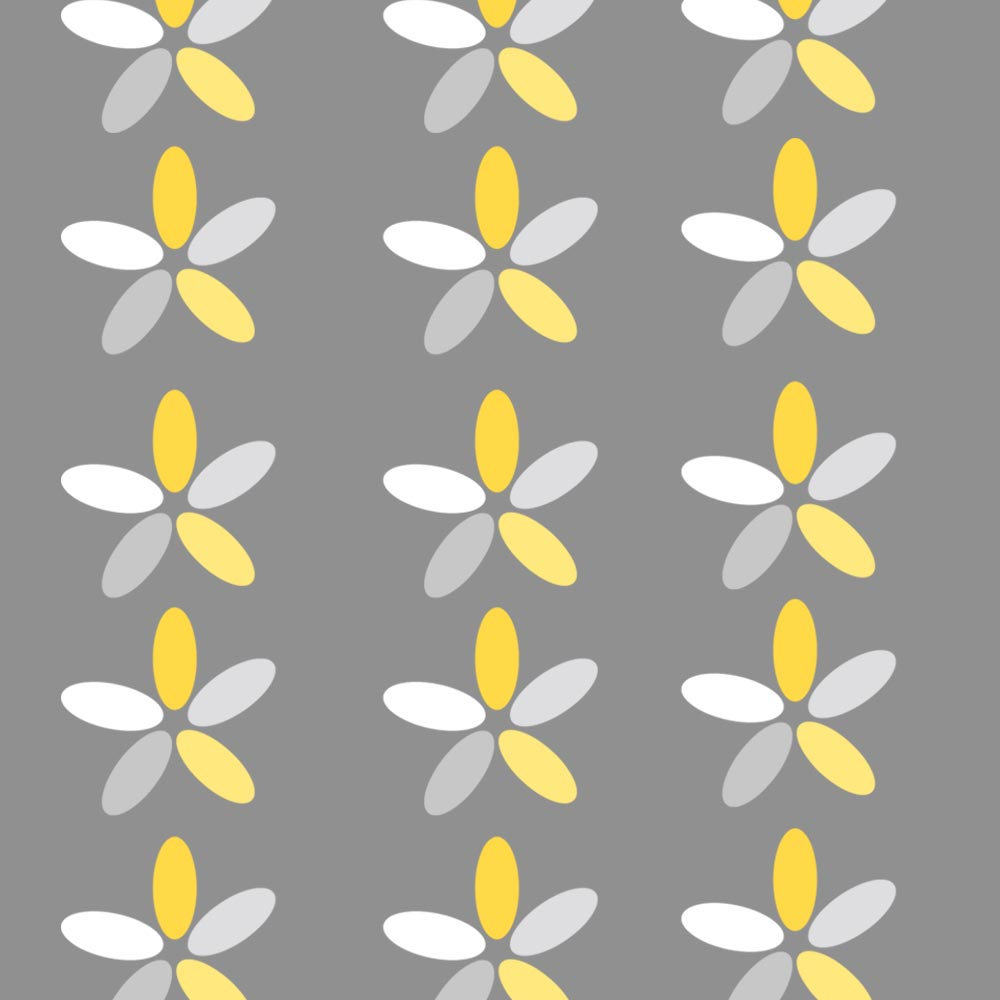 Greyyellow Flowers Gift Wrap Available Online Only From Stylish Gifts